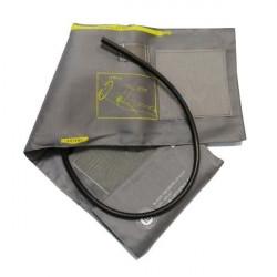 Фиксатор голеностопного сустава на шнуровке с ребрами жесткости Т-8608/1